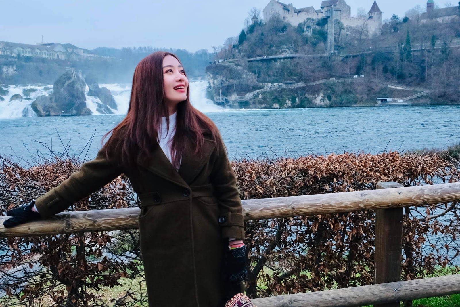 Yu Thandar Tin in Switzerland : Yu Travel Diary Photos