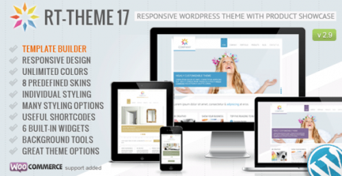 RT-Theme 17 v2.9.8.1 – Responsive WordPress Theme