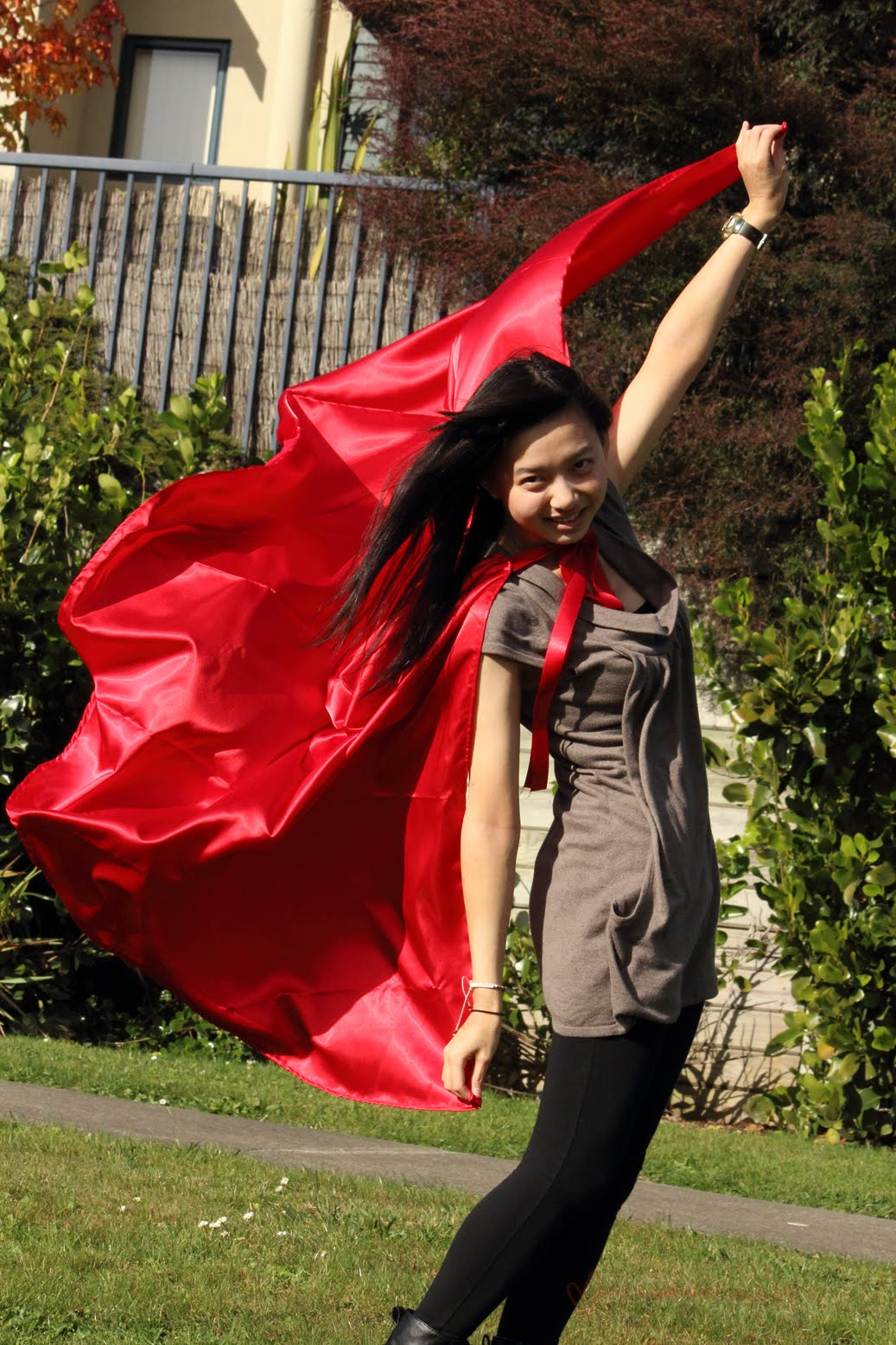 Diy Red And Black Eye Makeup: Red Riding Hood Cape