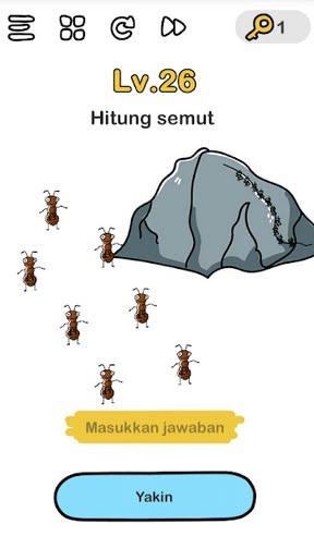 Brain Out Hitung Semut : brain, hitung, semut, Hitung, Semut, Brain, Penjelasan, Jawaban, Level, TEKHNO