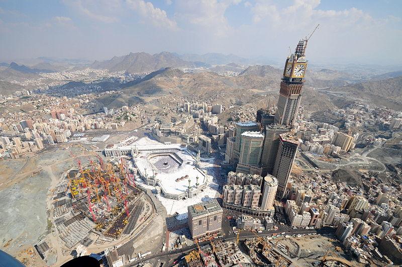 Abraj Al Bait in Saudi Arabia
