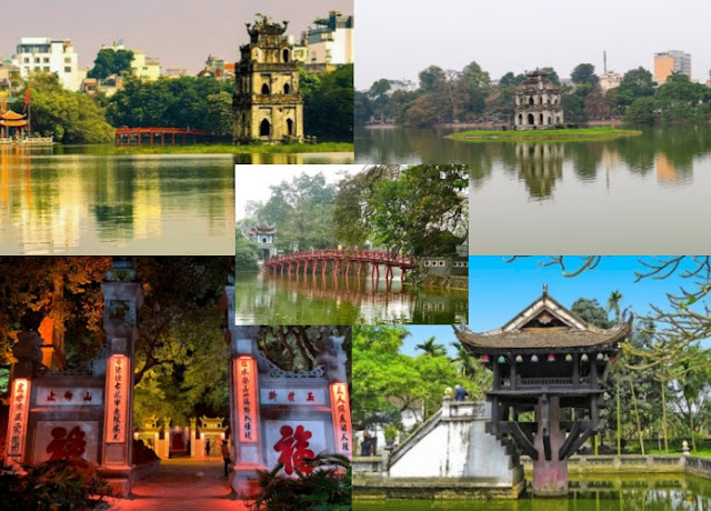 Hoan Kiem Lake_Destinasi wisata di Vietnam