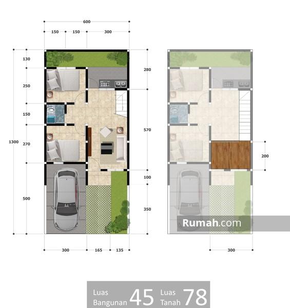 casa-andara-di-jual-rumah-mewah-murah-1-lantai-dekat-tol-mrt