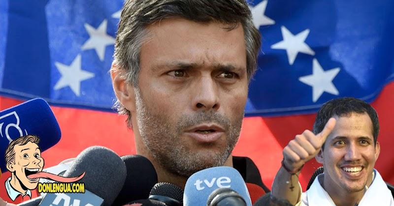 Leopoldo López le envía un Súper Mensaje a los venezolanos que no han podido emigrar a España