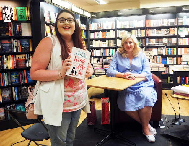 Sprinkle of Glitter Louise Pentland at the Wilde Like Me Book Signing in Bristol