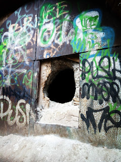 air raid shelters were built around Stockport derelictmanchester.com