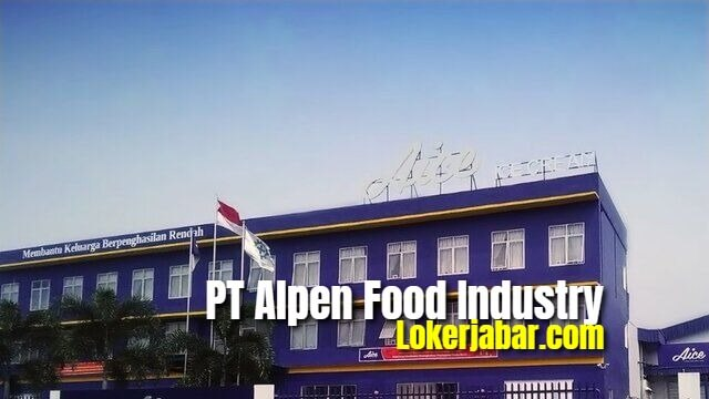 Lowongan PT Alpen Food Industry (Aice Ice Cream)