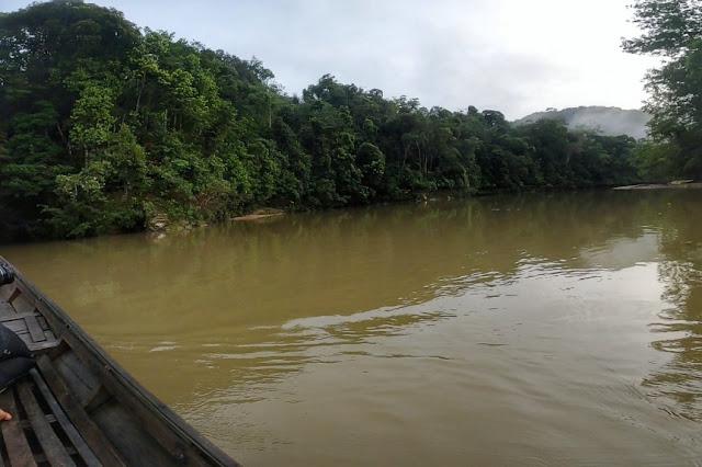 Foto Sungai Subayang Kecamatan Kampar Kiri Hulu, Riau