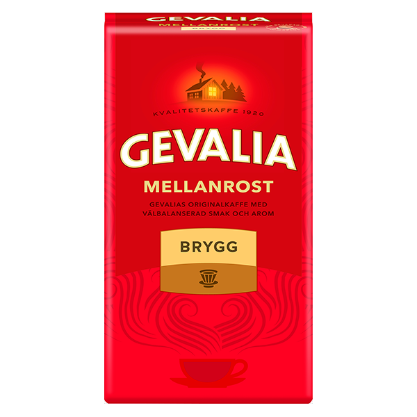 Gevalia la marca de café líder en Suecia, presenta su nuevo logotipo y empaque