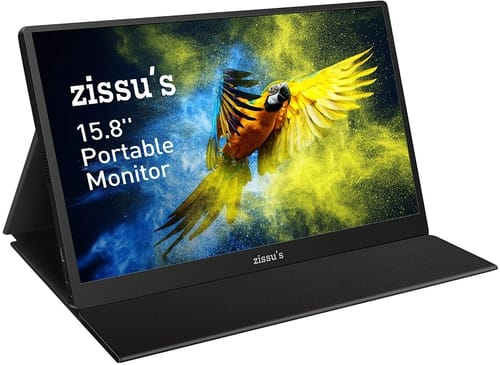 Zissu's Full HD 1080P HDR IPS Portable Monitor