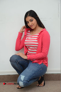 Telugu Actress Mouryani Latest Pos in Blue Denim Jeans  0203.JPG