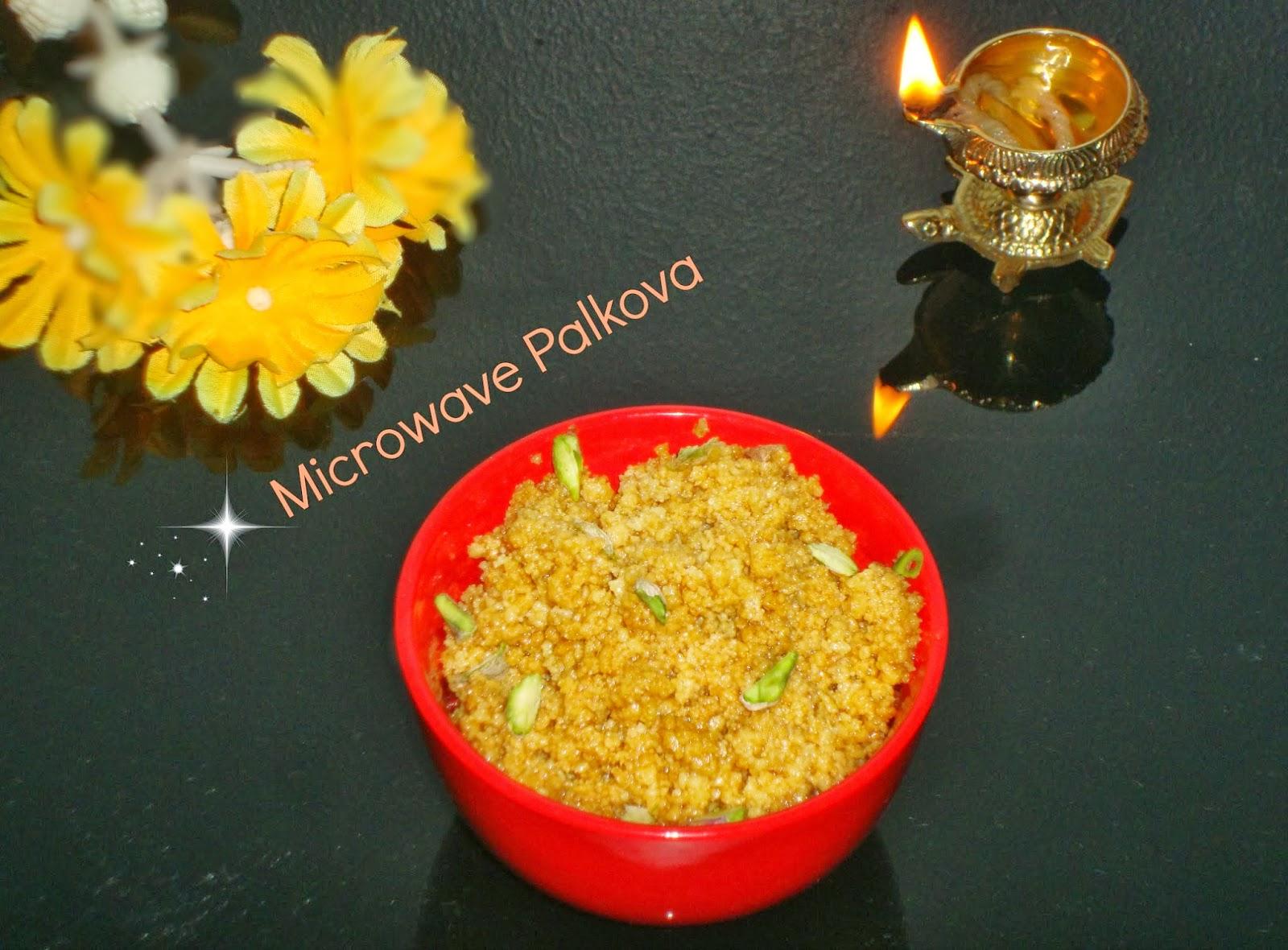 Poornima S Cook Book Microwave Palkova 10 Minutes