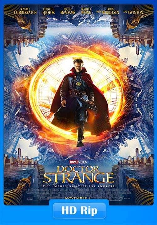Doctor Strange 2016 720p Hindi BDRip x264 | 480p 300MB | 100MB HEVC Poster