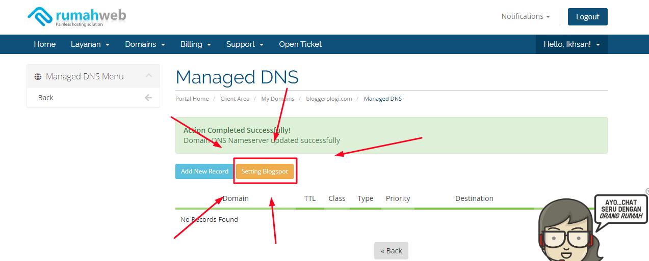 langkah memasang domain - 13