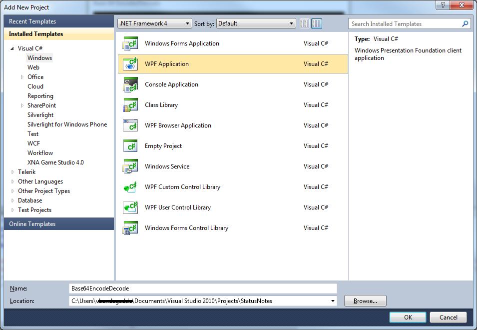 code bits: Windows Presentation Foundation #WPF Example