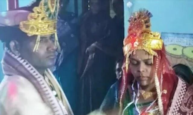 शादी के सभी संस्कार सही से हुए लेकिन विदाई के दौरान दुल्हन भावुक हो गई.