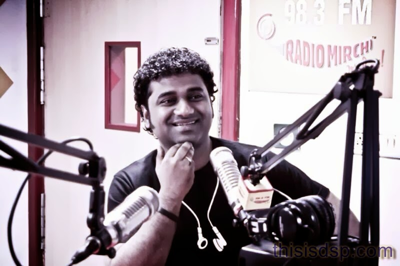 Devi Sri Prasad at Radio Mirchi Tamil for Veeram