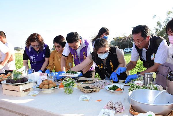 二林蕎麥文化季食光饗宴 彰化越光米及蕎麥推廣