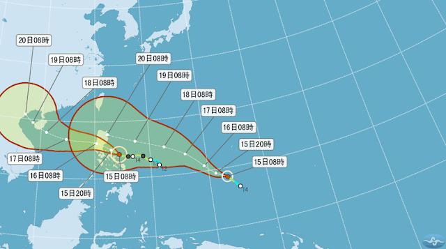 Walau Topan Sally dan Haima Tak Langsung Masuk Taiwan, Namun Efeknya Akan Terasa Seperti Berikut Ini