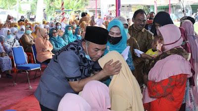 Bupati Labuhanbatu Hadiri Kampung KB Sarasehan di Kecamatan Panai Tengah