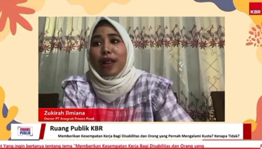 Zukirah Ilmiana, pemilik PT. Anugerah Frozen Food di Bulukumba, Sulawesi Selatan