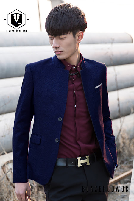 blazer cowok blazercowok.com jaket korean jas pria w04 a