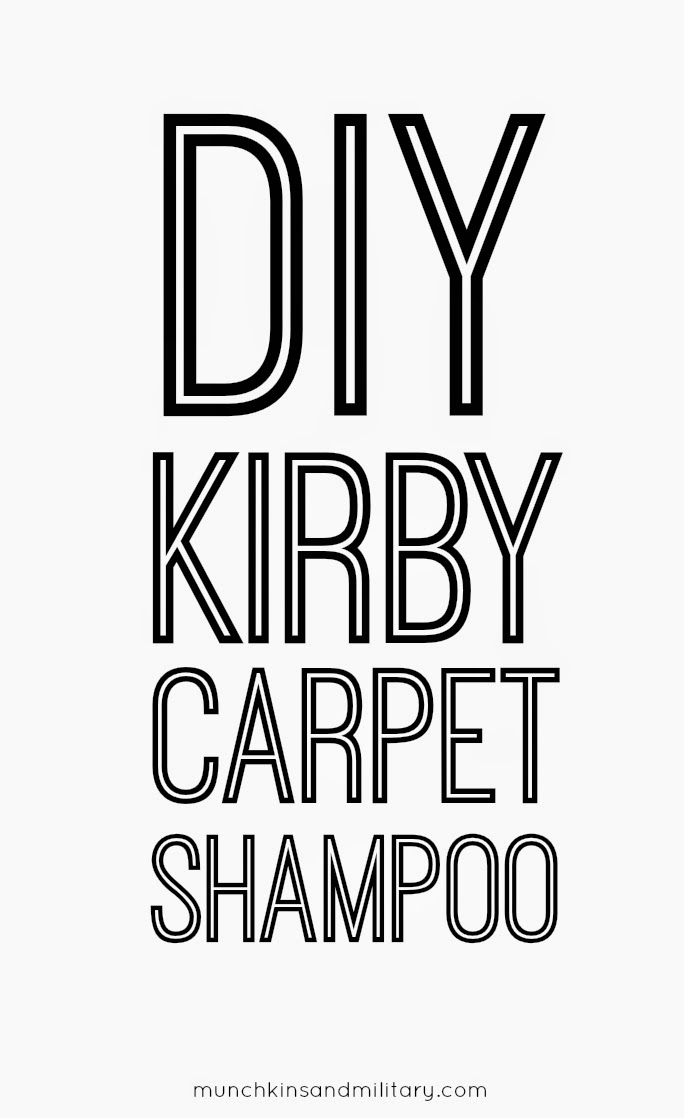 Homemade Kirby Dry Foam Carpet Shampoo Recipe