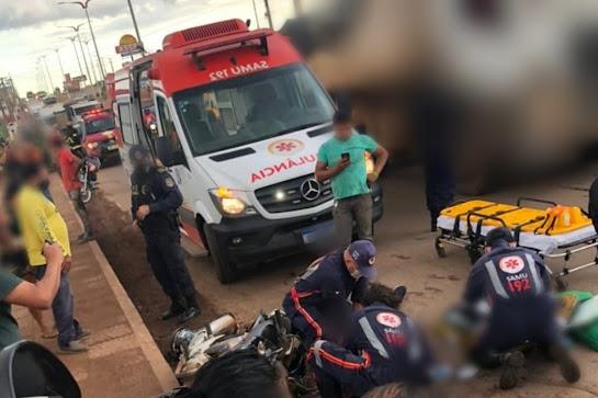 A vítima seguia com o pai em uma motocicleta Honda CG Titan, quando ocorreu a colisão com um caminhão, na altura do bairro Novo Brasil, na PA-275, em Parauapebas.