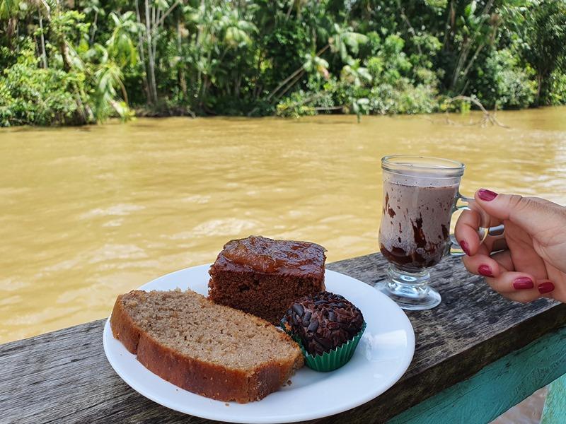 Ilha do Combu chocolate Belém