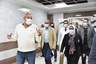وزيرة الصحة تتفقد مجمع الأقصر الطبي الدولي بتكلفة 1.2 مليار جنيه وتؤكد صرح طبي يخدم جميع أهالي إقليم جنوب الصعيد