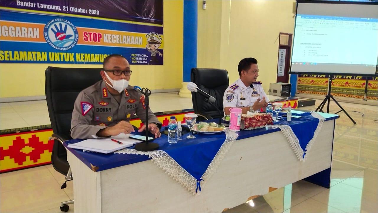 Dirlantas Polda Lampung dan DisHub Prov. Lampung Giat Pantau aktifitas Tempat Wisata selama libur panjang (27 Okt - 1 Nov)