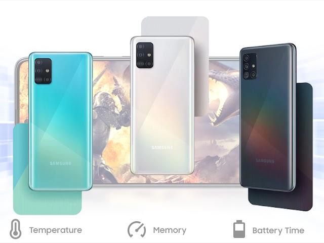 Samsung Galaxy A51, Ponsel Kekinian Empat Kamera dengan Harga Terjangkau