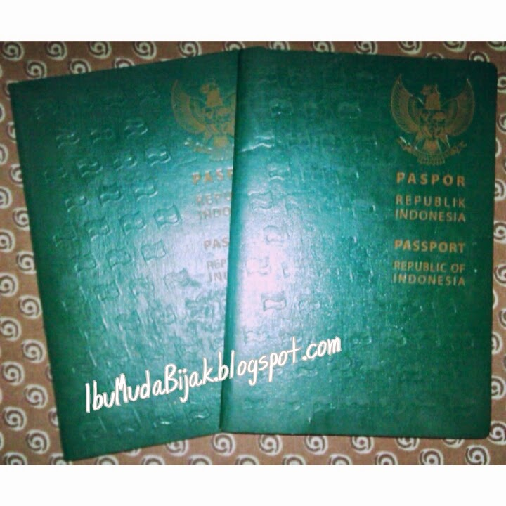 Cara membuat / daftar paspor online