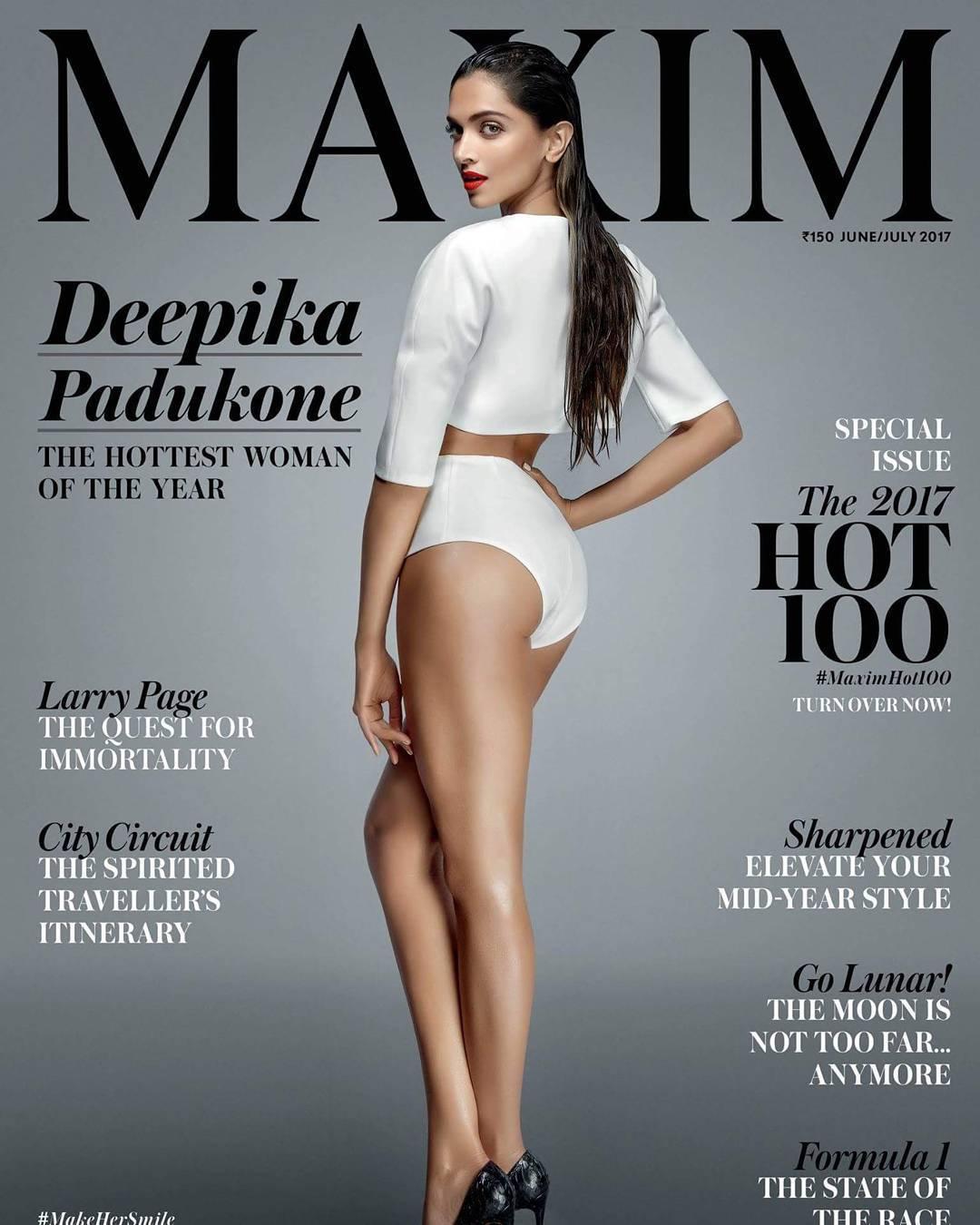 Deepika Padukone Maxim June 2017 Images