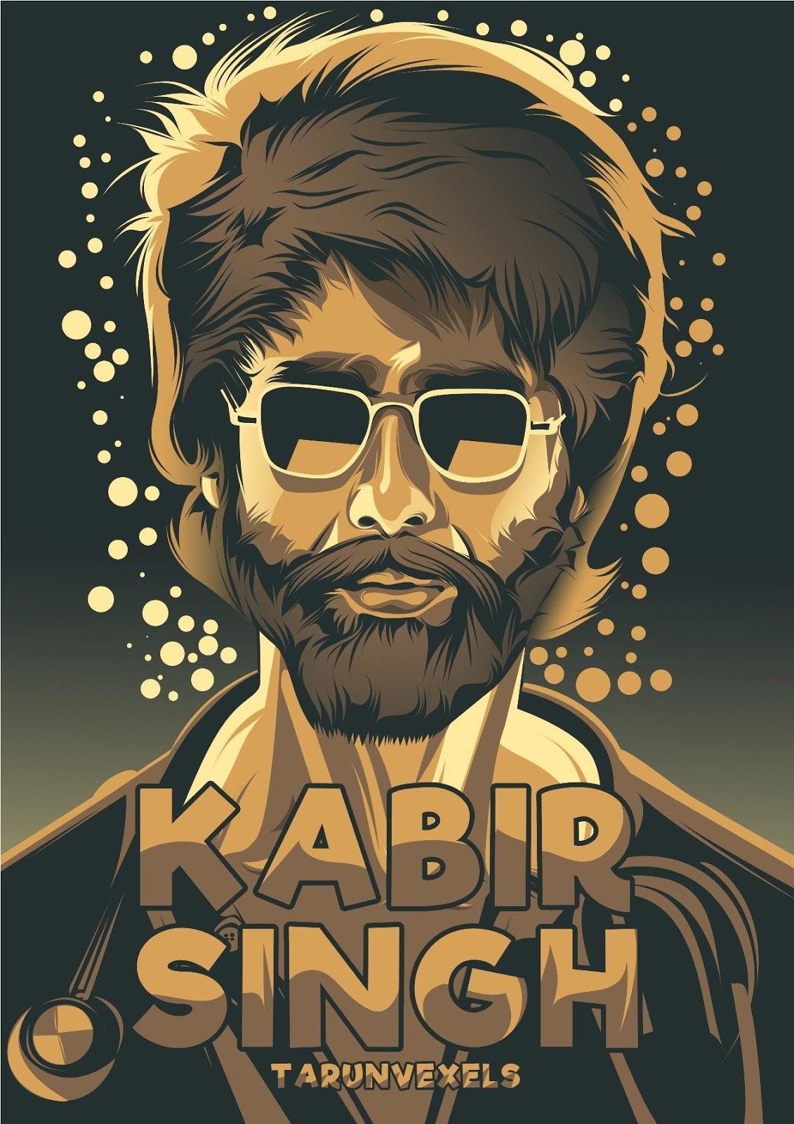 Shahid Kapoor S Kabir Singh Mobile Wallpaper Hd Mobile Walls