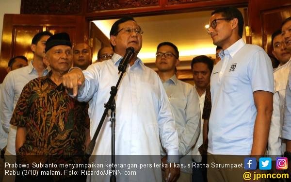 Prabowo Sebaiknya Bersih-Bersih Ring Satu