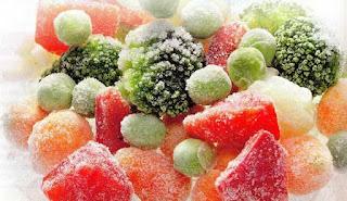 Заморозка фруктов ягод овощей