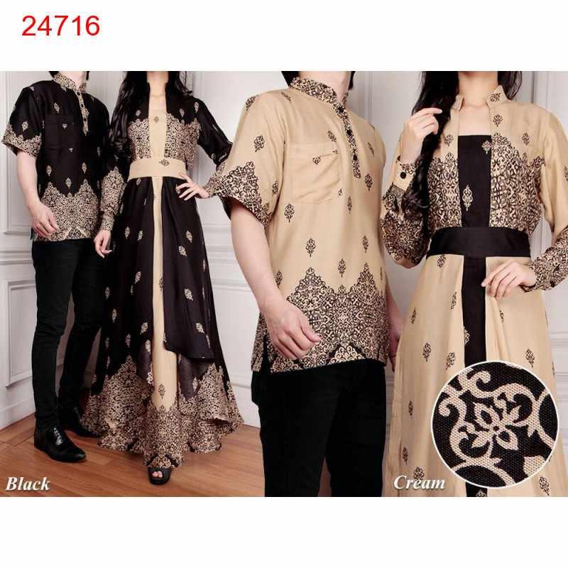 Jual Batik Gamis Couple Tamara - 24716