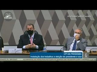 Há culpados, e eles serão responsabilizados', diz Renan ao assumir relatoria da CPI da Covid