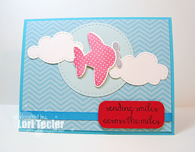 Sending Smiles card-designed by Lori Tecler/Inking Aloud-stamps from Reverse Confetti