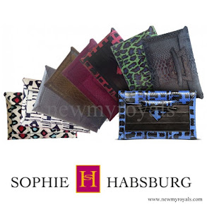 Sophie Countess of Wessex style Sophie Habsburg moneypenny Clutch bag