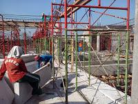 Lantai panel beton ringan
