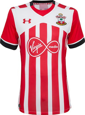 96c8b69e6 This is the new Southampton 2016-17 home jersey by Under Armour.