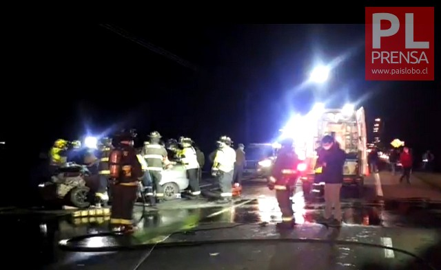 Accidente de tránsito en la Ruta 215