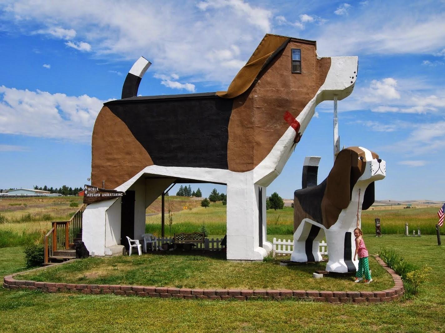 MyPhotoPics: Dog Bark Park Inn, Αϊντάχο, ΗΠΑ