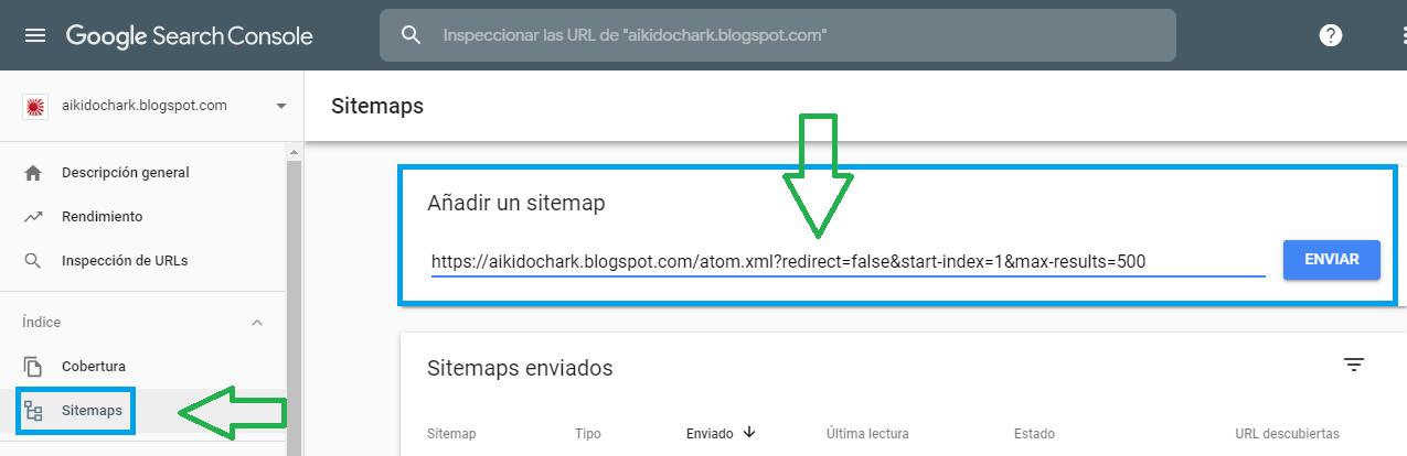 Tutorial agregar Sitemap en Blogger - Charkleons.com