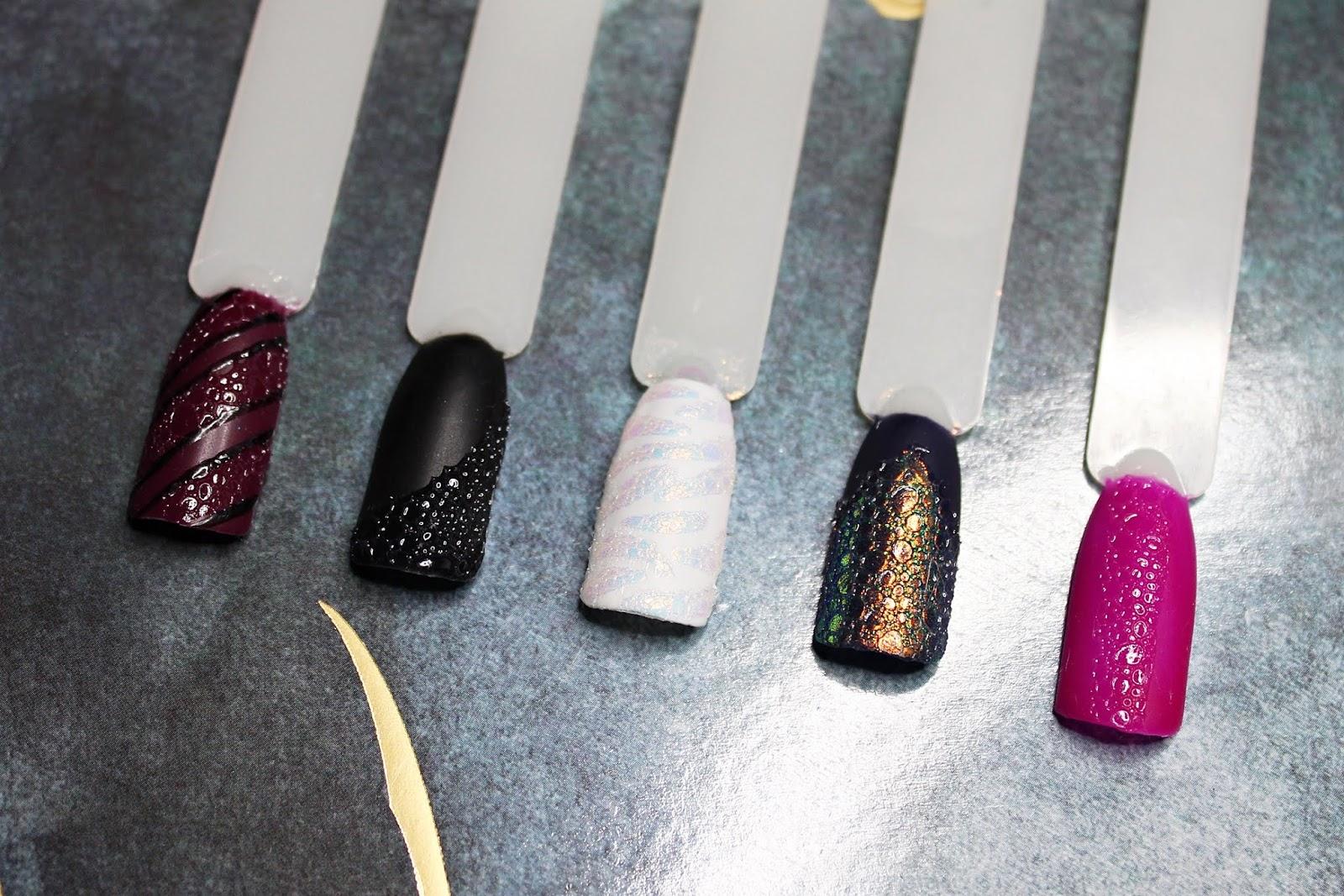 Efekt piany na paznokciach. BUBBLE NAILS - efektowny i mega prosty sposób na piękny manicure | Instrukcja krok po kroku