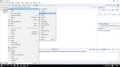 Membuat Paket Java Baru