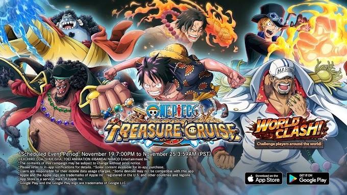 One Piece Treasure Cruise (Global) v9.6.1 MOD God Mode