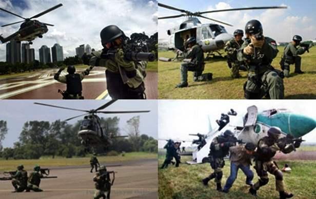 Pasukan elite Detasemen Bravo TNI  AU